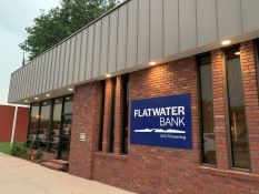 Exterior view of Flatwater Bank 120 N Main Brady NE